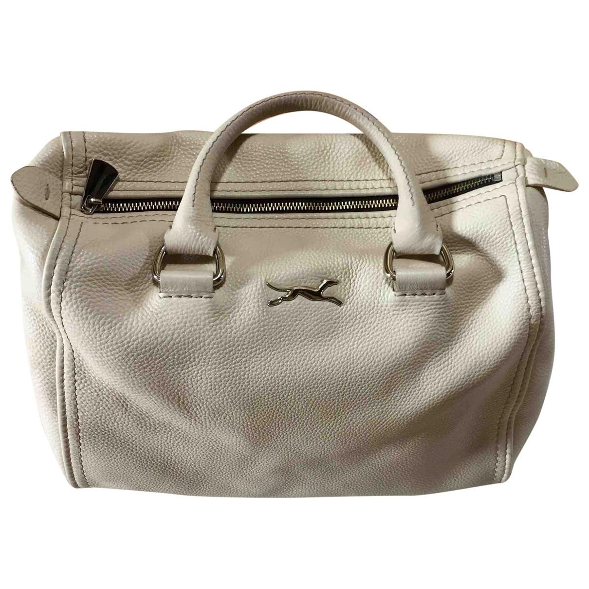 Bimba Y Lola \N Ecru Leather handbag for Women \N