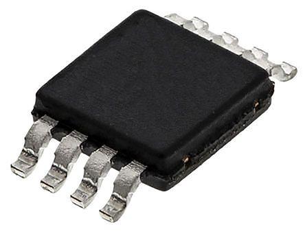 Texas Instruments DAC8551IADGKT, Serial DAC, 200ksps, 8-Pin MSOP