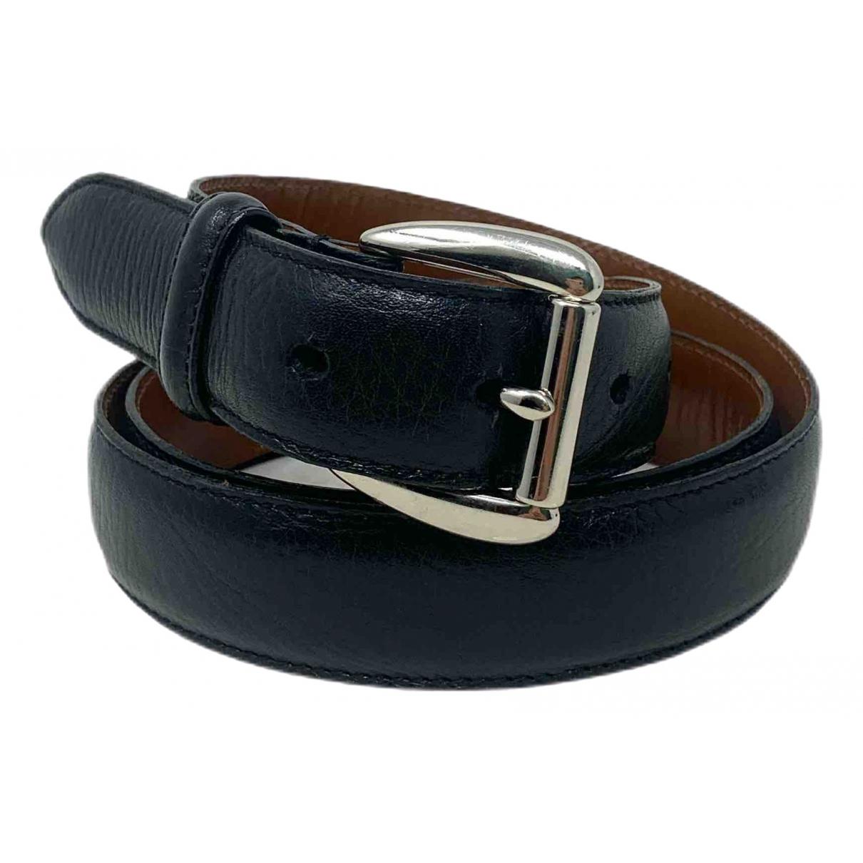 Polo Ralph Lauren \N Black Leather belt for Women 95 cm
