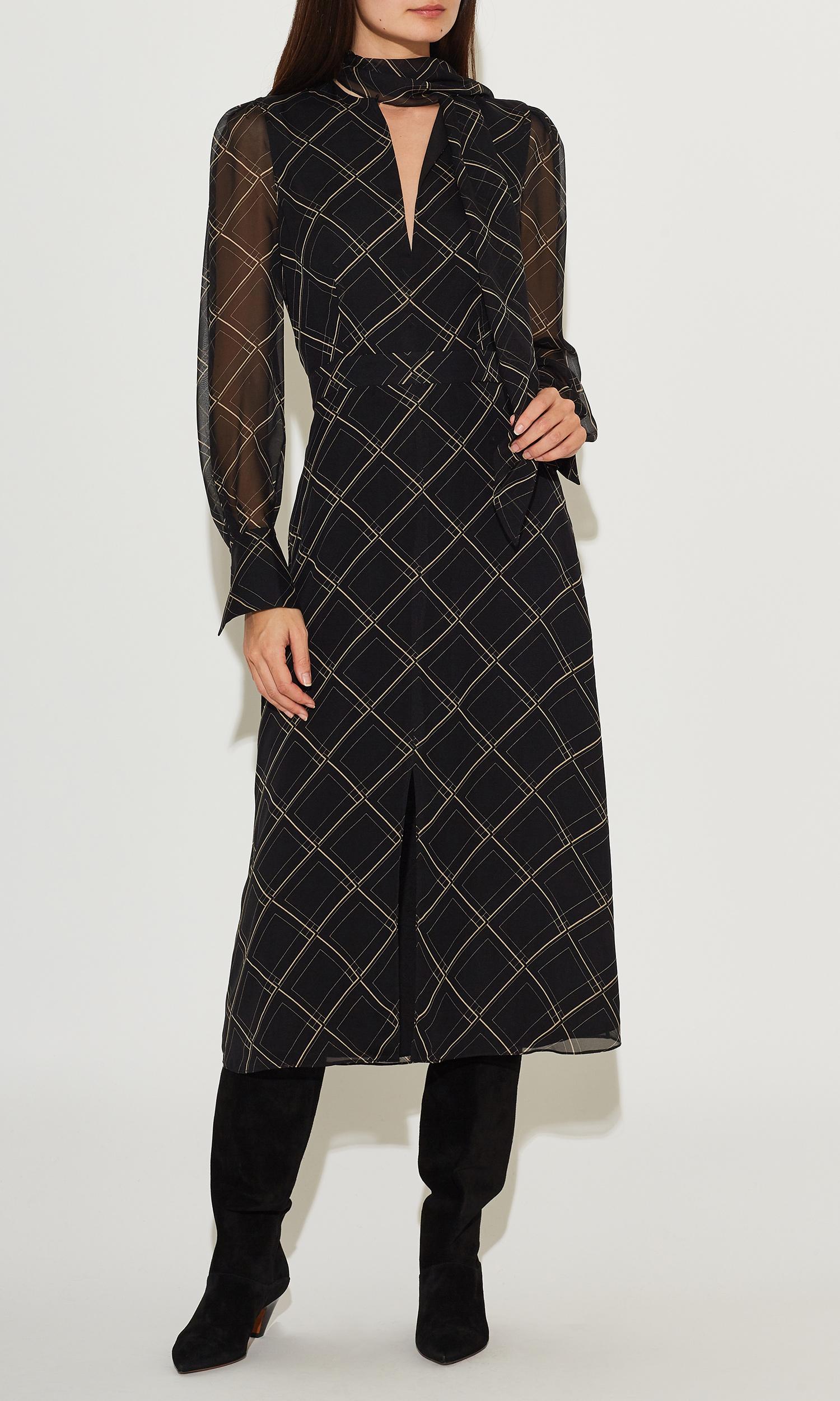 Calanne Silk Dress by Equipment