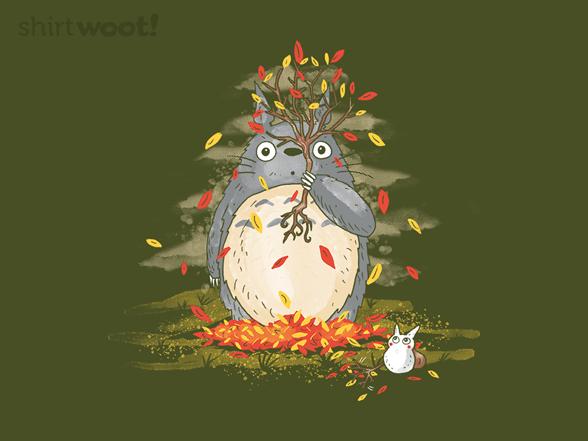 Fall Forest Spirit T Shirt