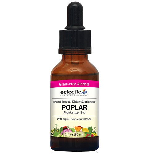 Poplar 2 Oz with Alcohol by Eclectic Institute Inc