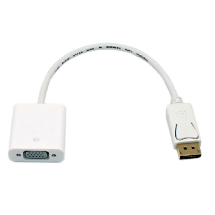 Displayport to VGA Female Cable Adapter - PrimeCables®
