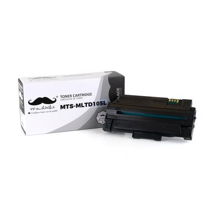 Samsung MLT-D105L cartouche de toner compatible noire - Moustache®
