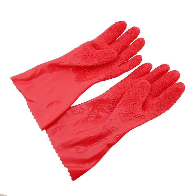 1 Pair Peeling Potato Gloves Peel Vegetable Fish Scale Gloves Kitchen Tools Latex Protect Hand