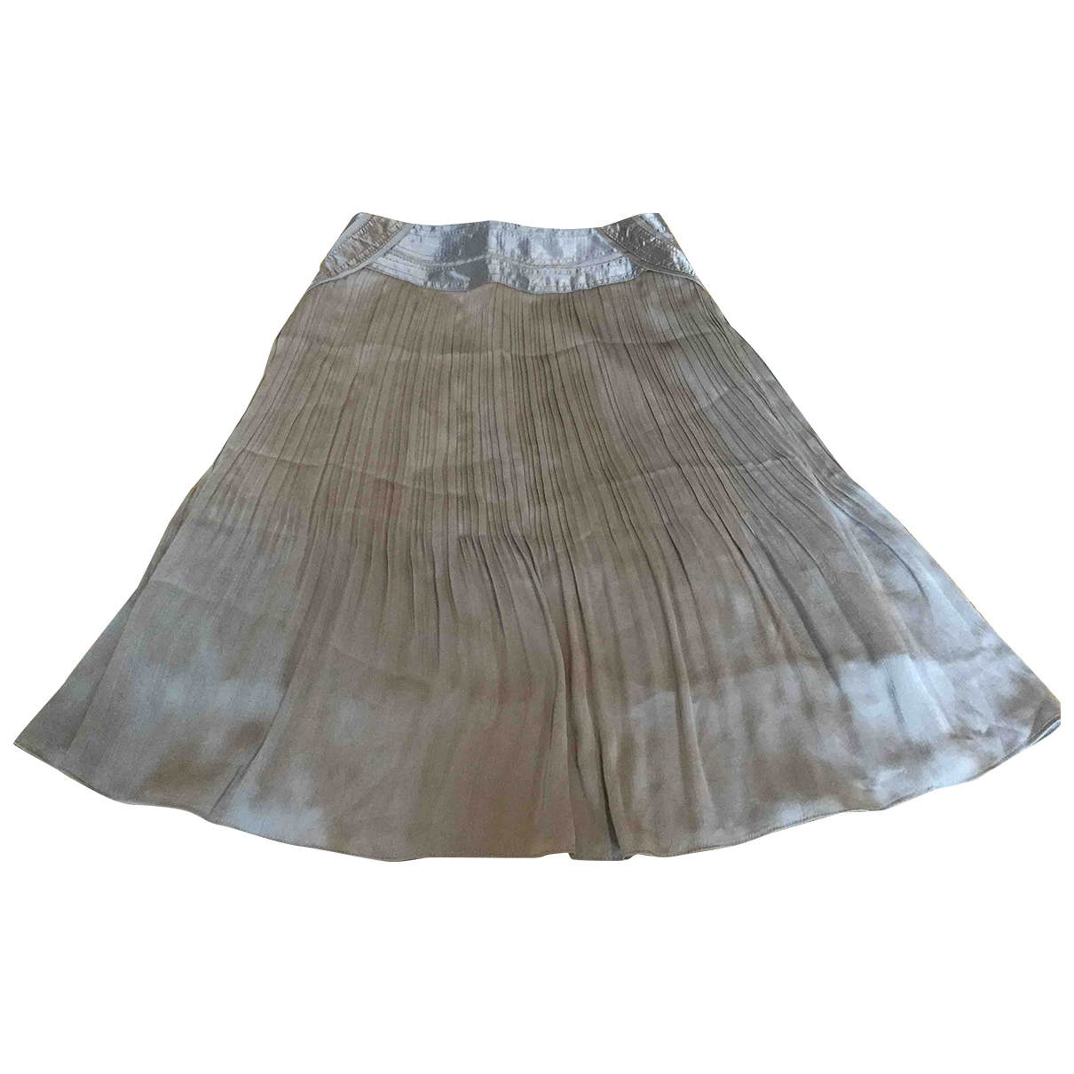 Non Sign?? / Unsigned \N Silk skirt for Women 40 IT