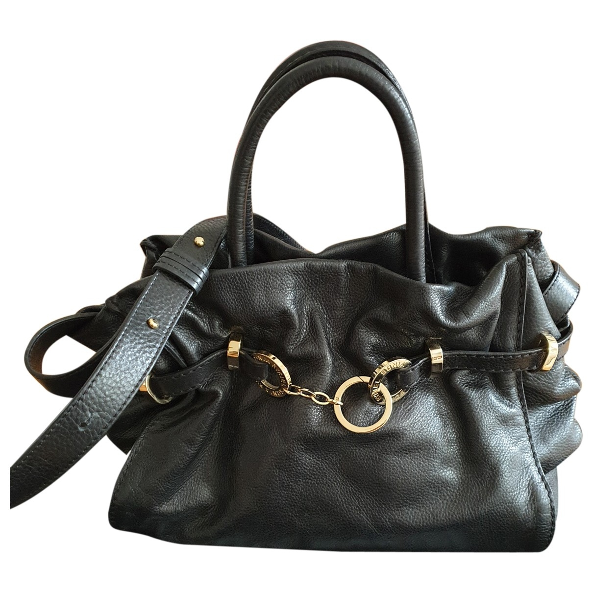 Sonia Rykiel Martha Black Leather handbag for Women \N