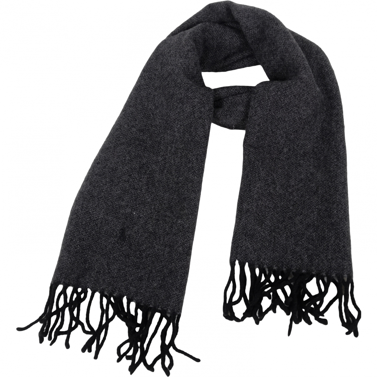 Polo Ralph Lauren \N Grey Wool scarf & pocket squares for Men \N