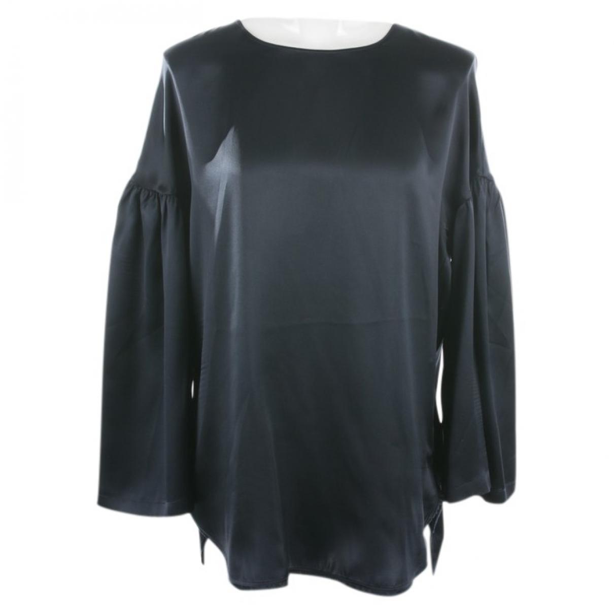 Lis Lareida \N Blue Silk  top for Women 38 FR