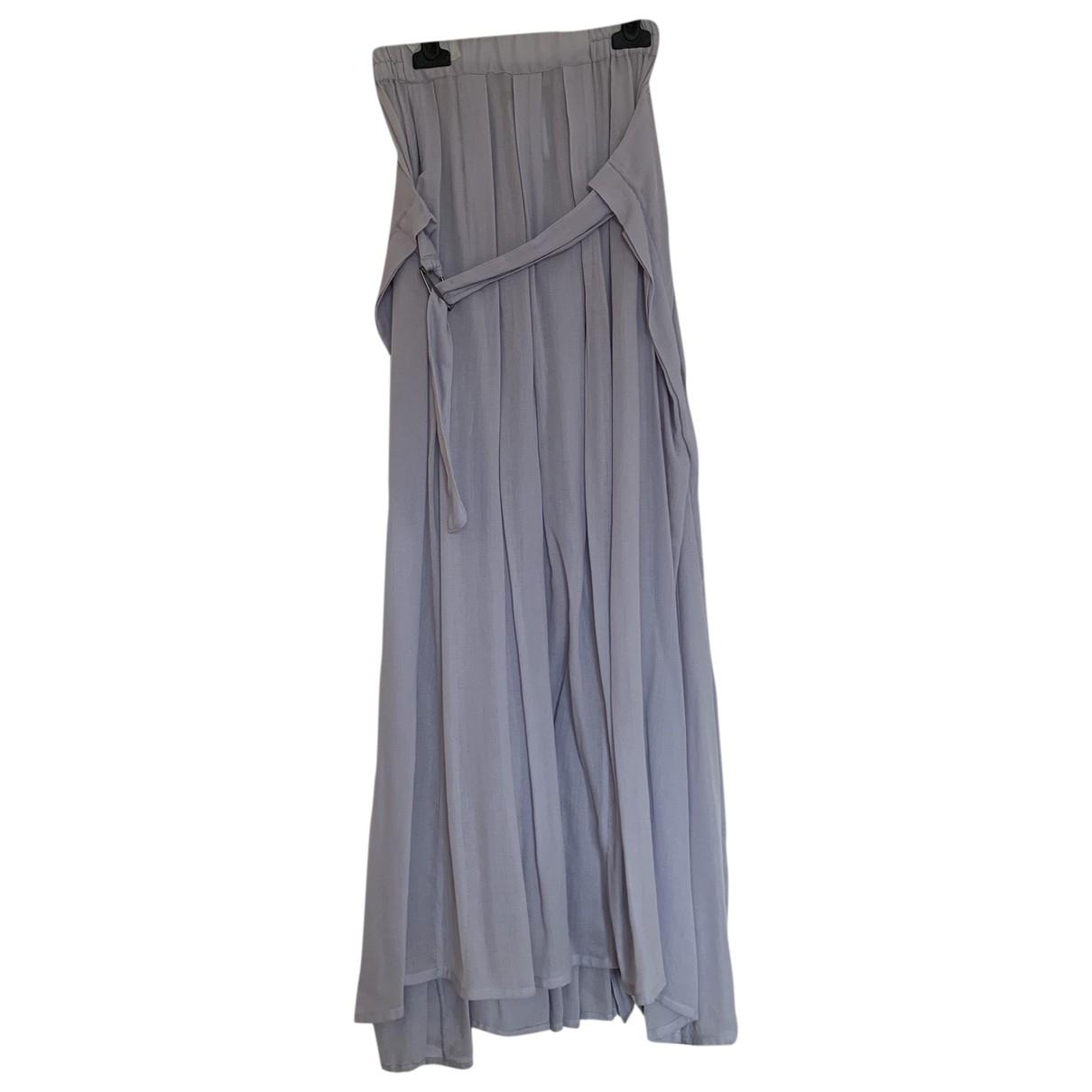 Ann Demeulemeester \N Purple Cotton skirt for Women 34 FR