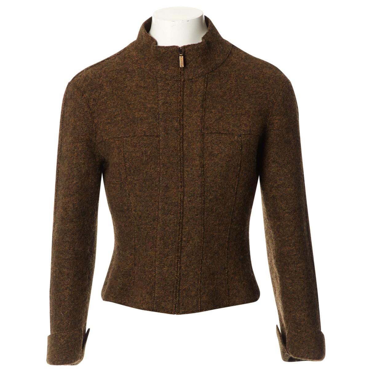 Chanel \N Brown Wool jacket for Women 38 FR