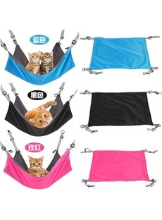 Flannelette Pure Color Waterproof Creative Cat Hammock