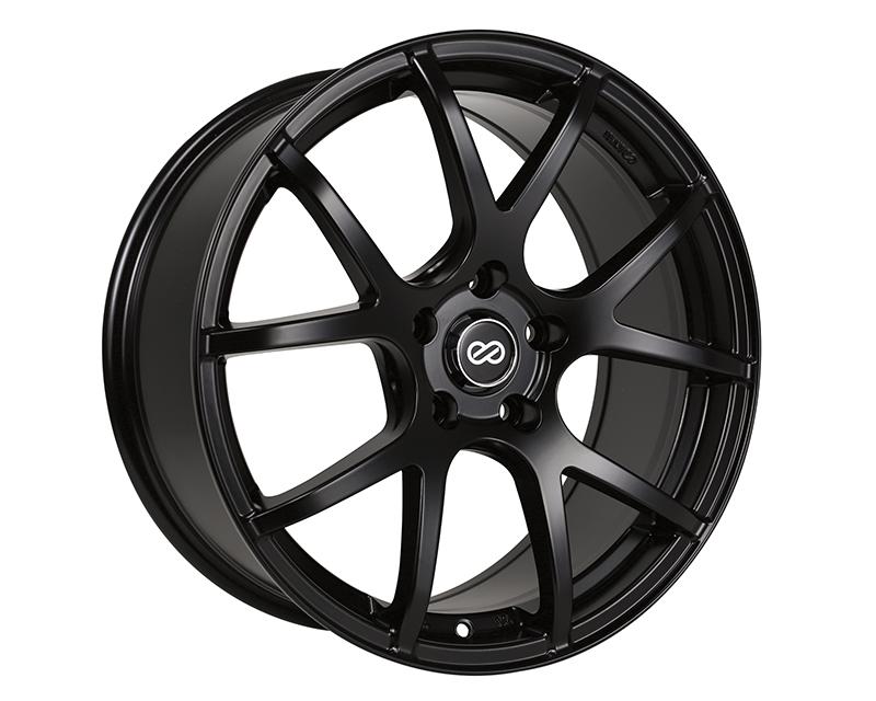 Enkei M52 Wheel Performance Series Black 18x8 5x112 45mm