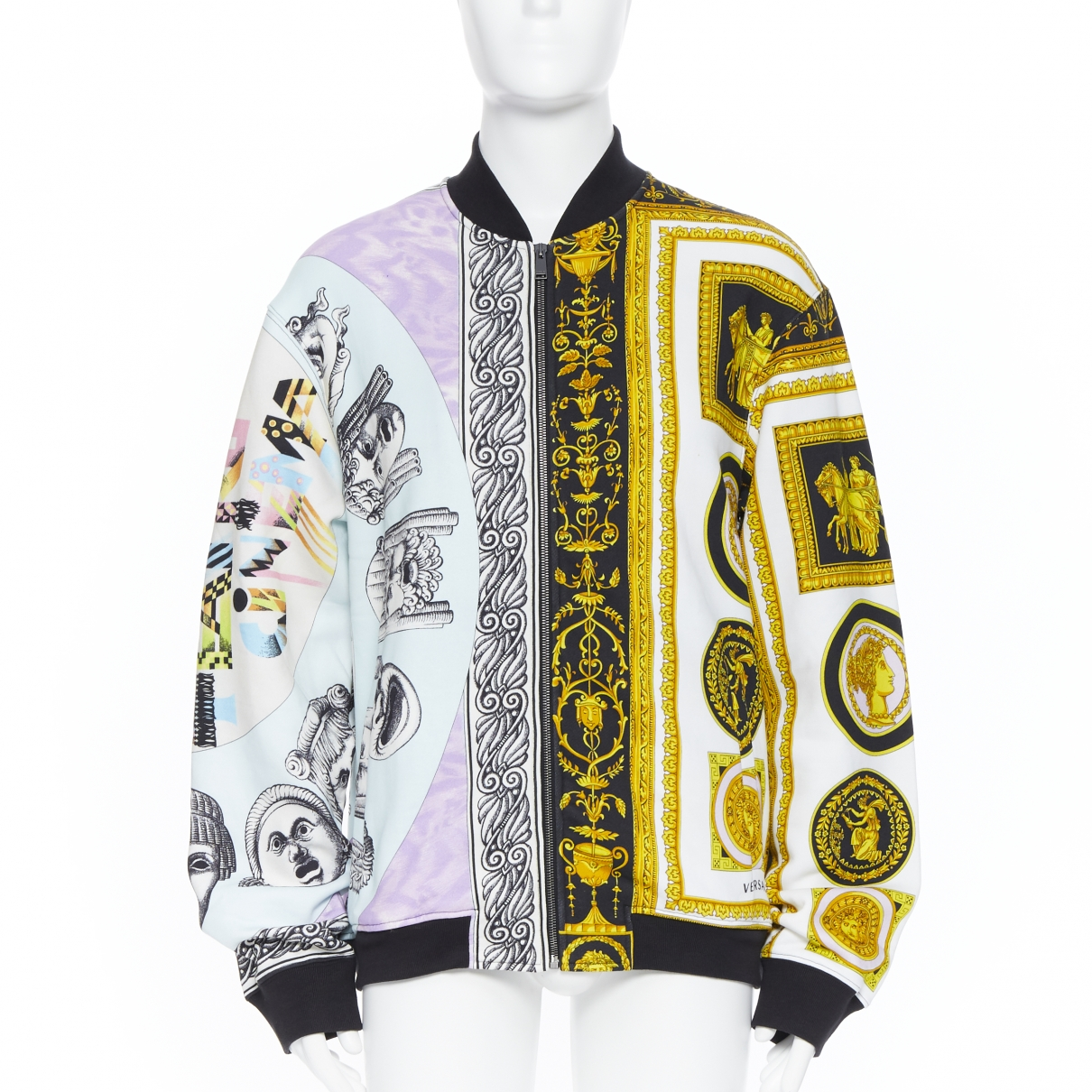 Versace \N Multicolour Cotton jacket  for Men XXL International