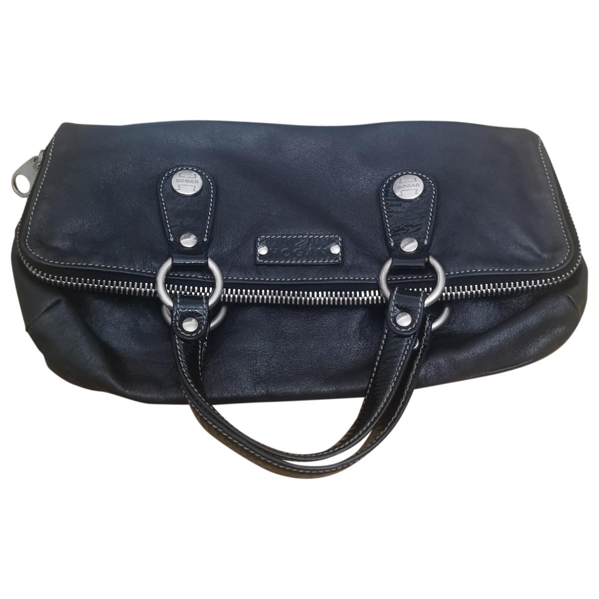 Hogan \N Black Leather handbag for Women \N