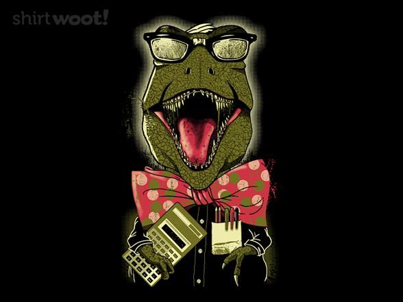 Nerdasaurus-rex T Shirt