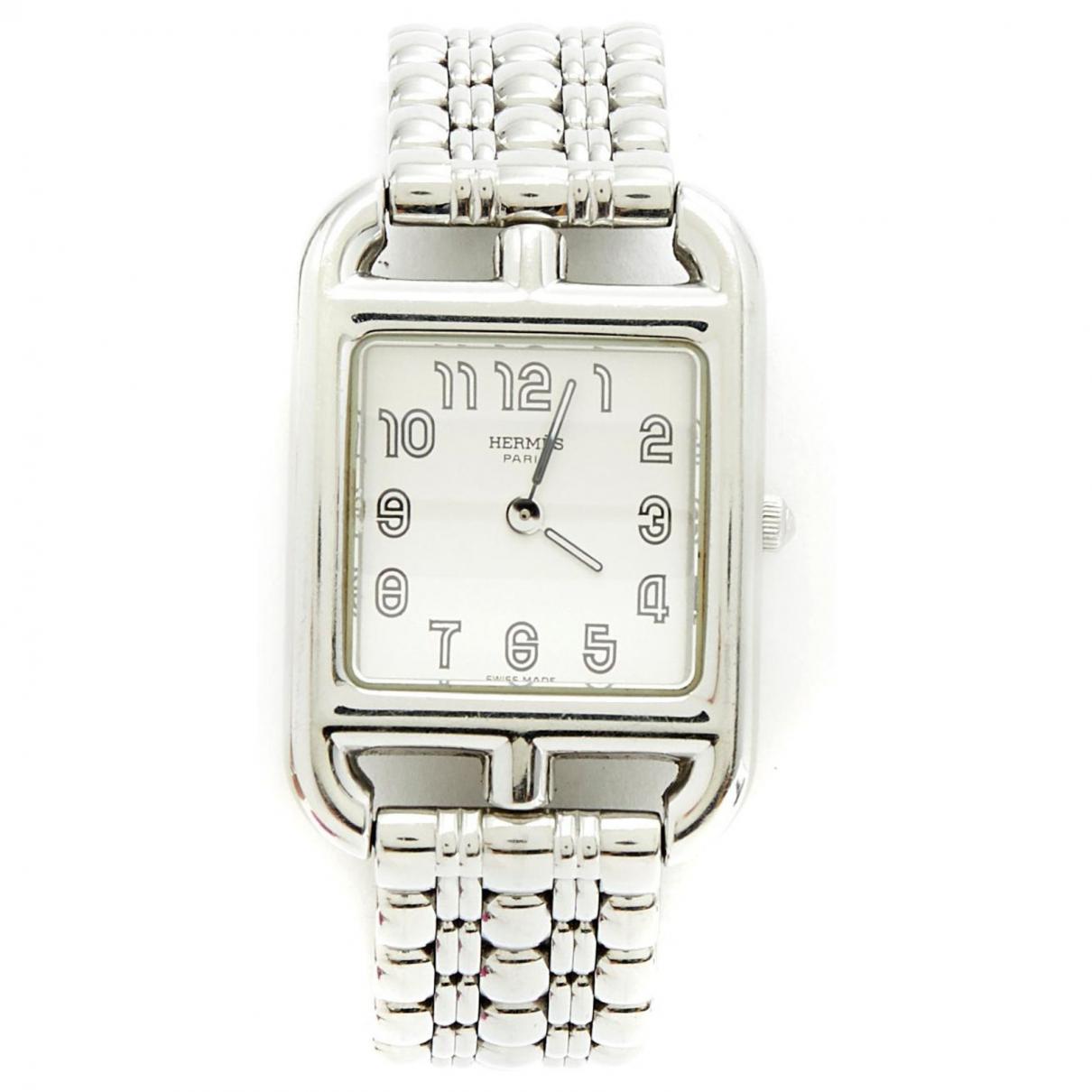 Hermès Cape Cod Silver Steel watch for Women \N