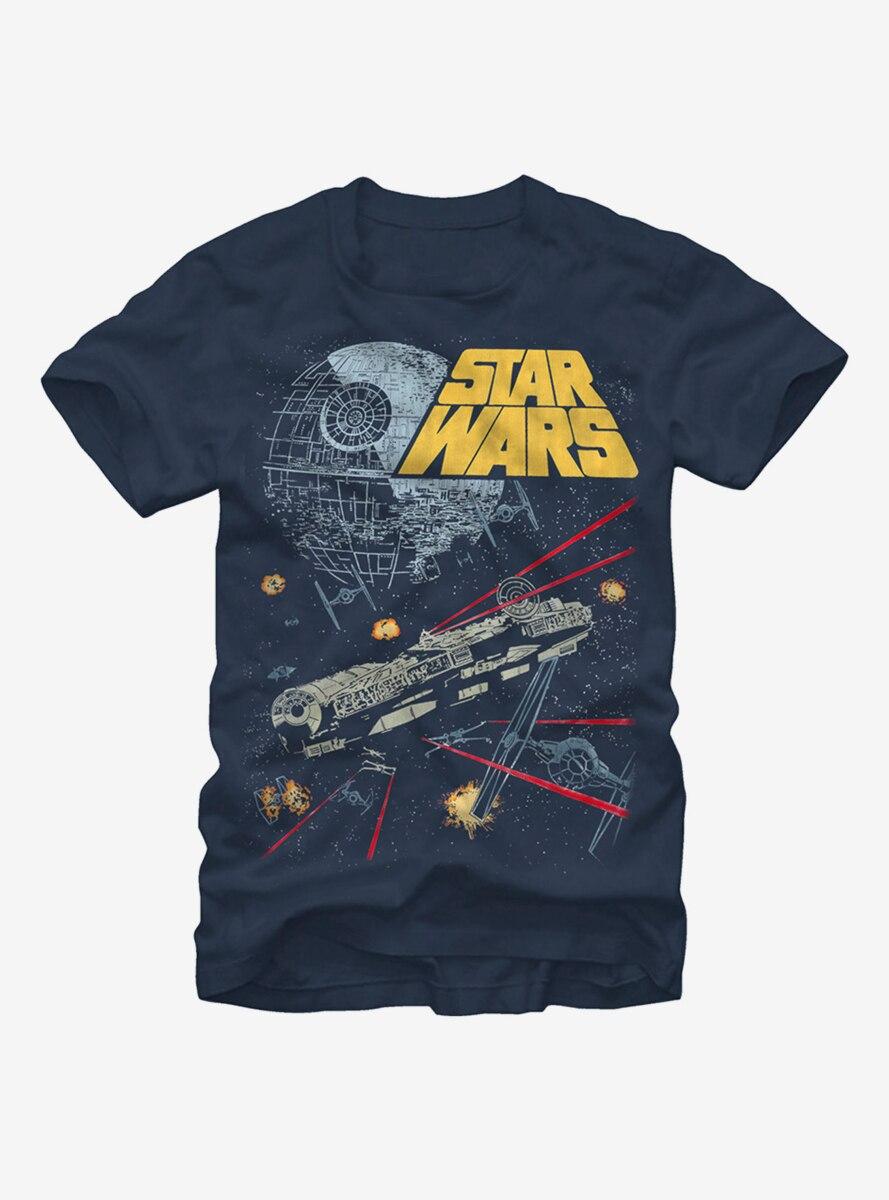 Star Wars Millennium Falcon Battle T-Shirt