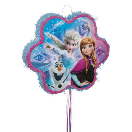 Frozen 1 Shaped Pull Pi馻ta Pour la fête d'anniversaire