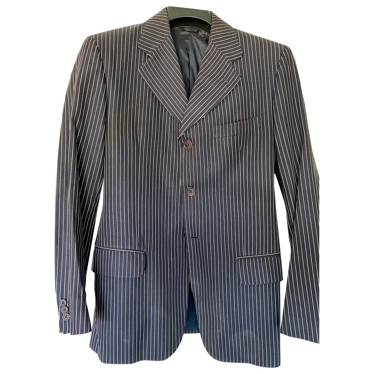 Dolce & Gabbana \N Blue Cotton jacket  for Men 48 IT