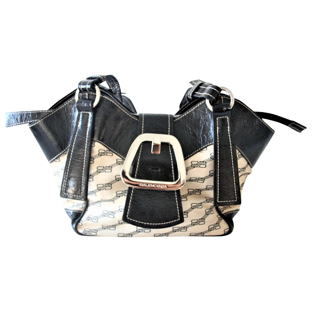 Balenciaga \N Black Cloth handbag for Women \N