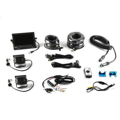 Brandmotion Two-Camera Trailer Rear Vision System with 7