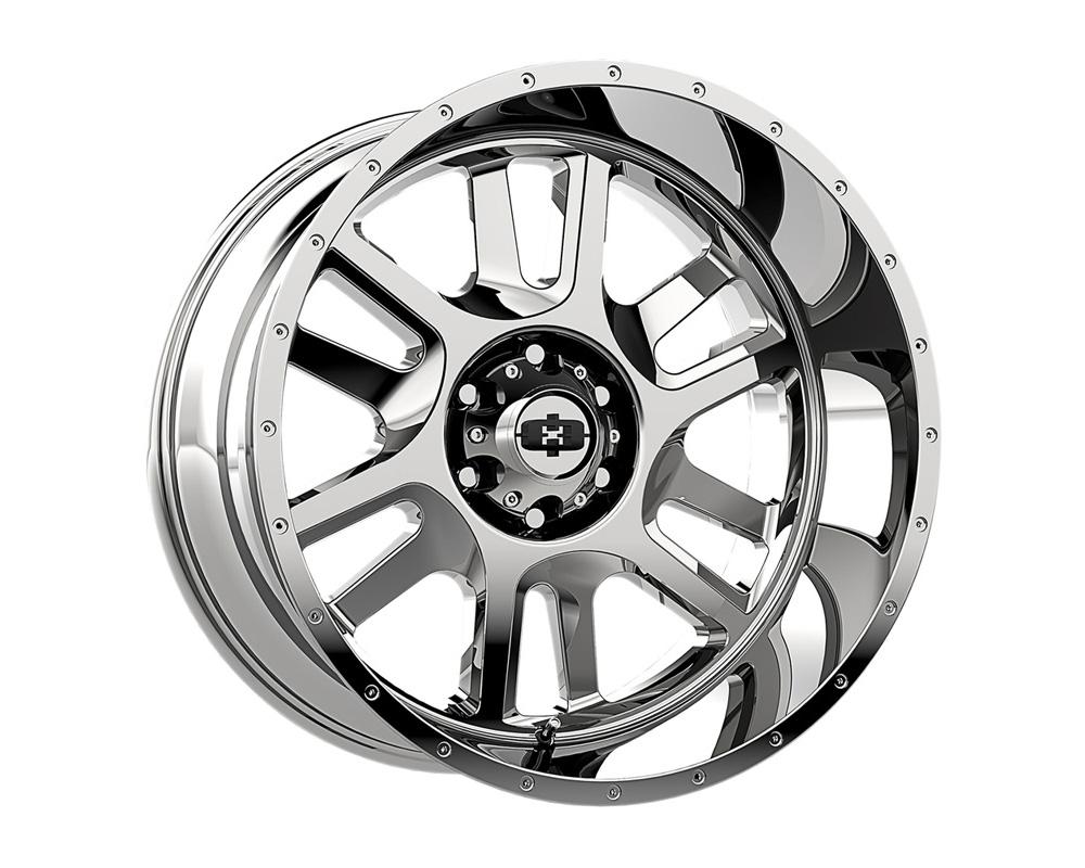 Vision Split Chrome Wheel 20x9 8x180 12