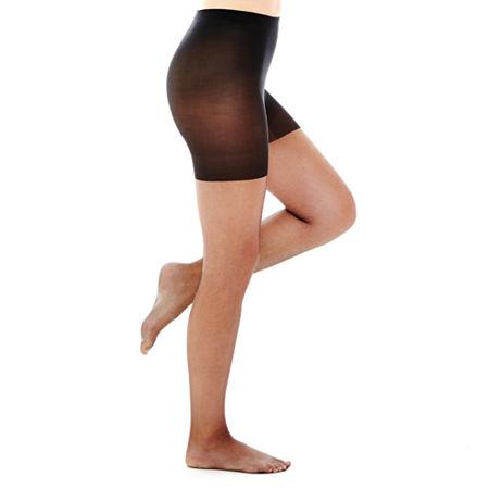 Berkshire Ultra-Sheer Control Top Panty Hose, 3 , Black