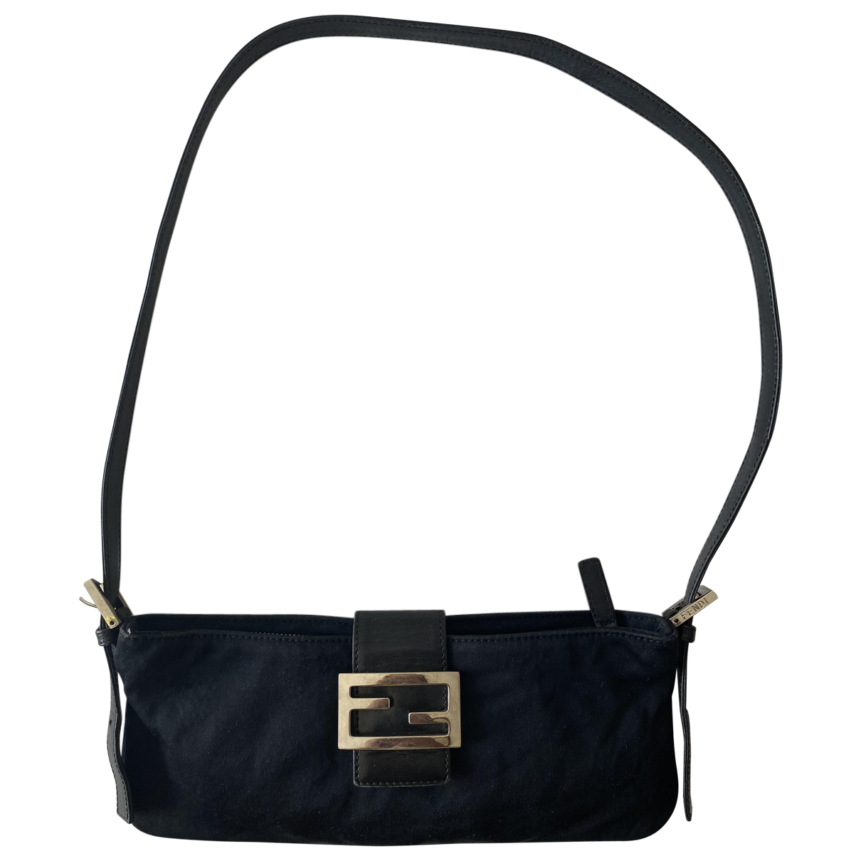 Fendi \N Black Cloth Clutch bag for Women \N
