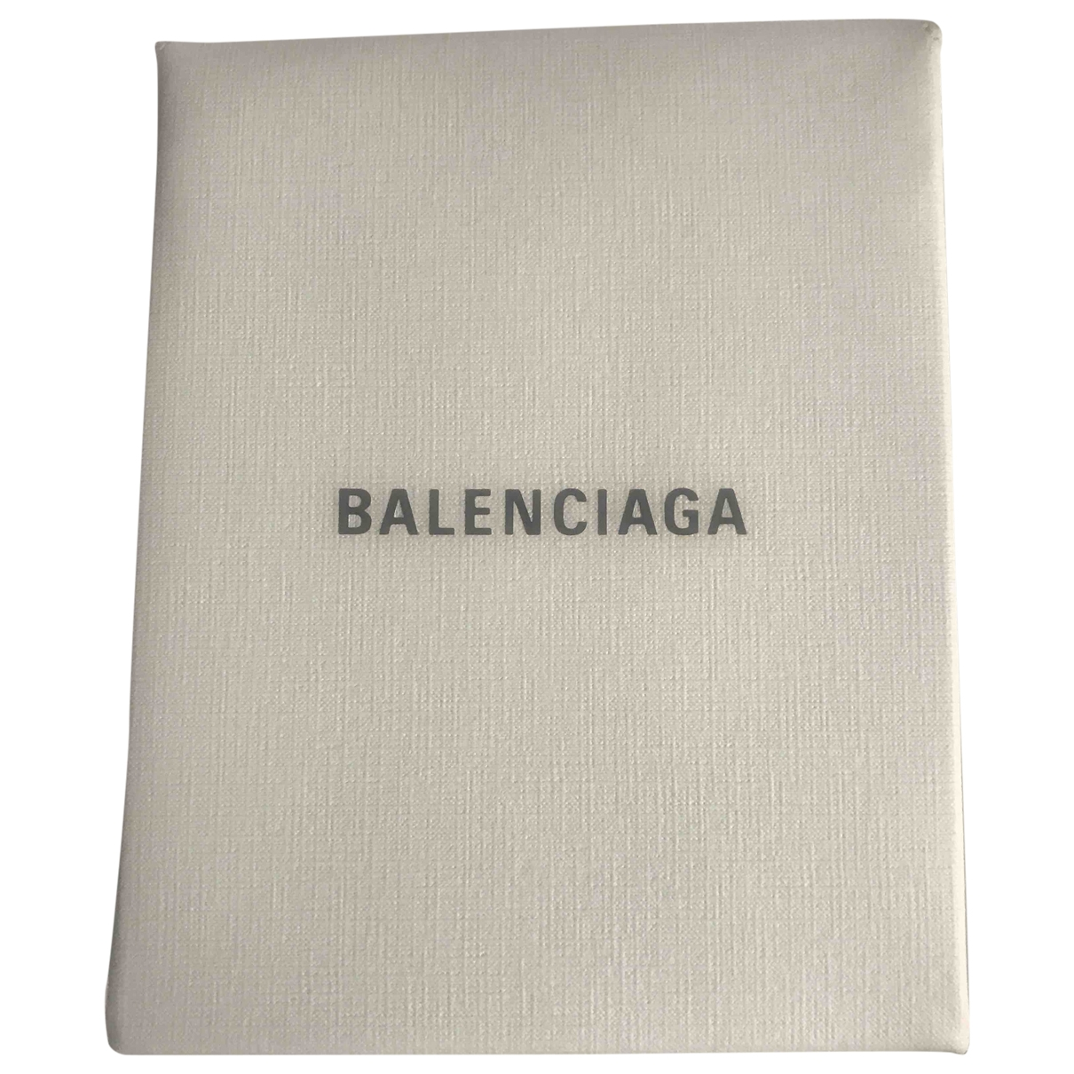 Balenciaga \N White Leather Clutch bag for Women \N
