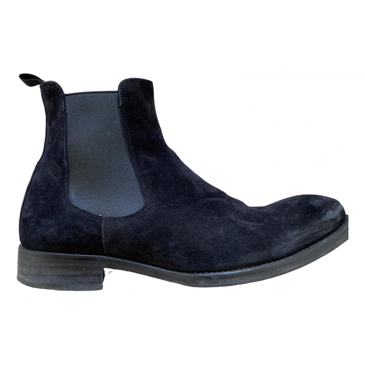 Russell & Bromley \N Black Suede Boots for Men 40 EU