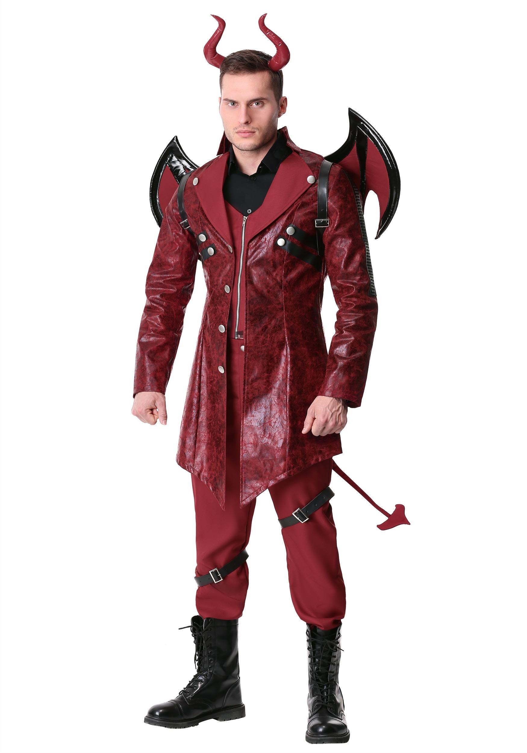 Men's Dangerous Devil Costume
