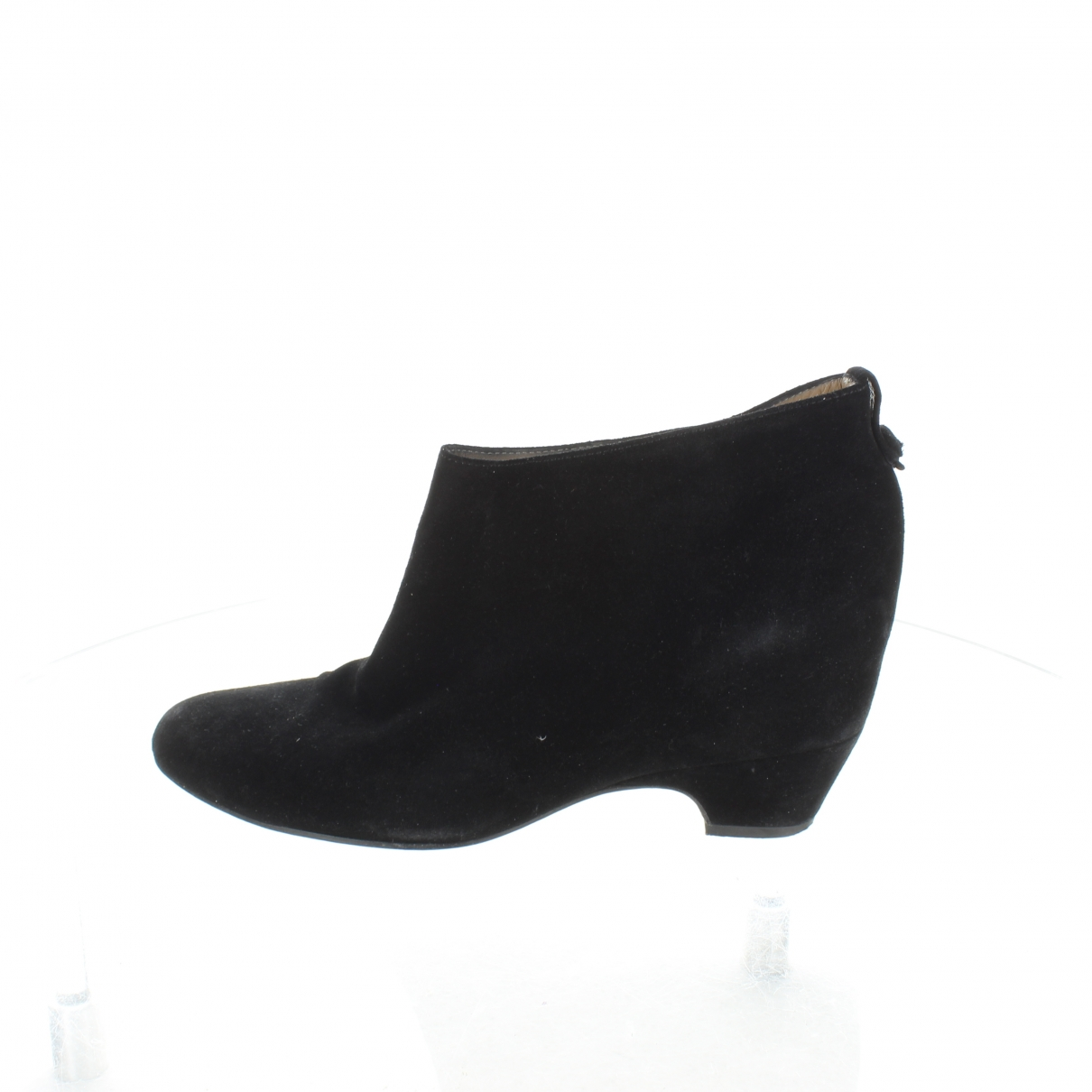 Golden Goose \N Black Suede Ankle boots for Women 39 EU