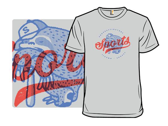 Procrastinators League T Shirt