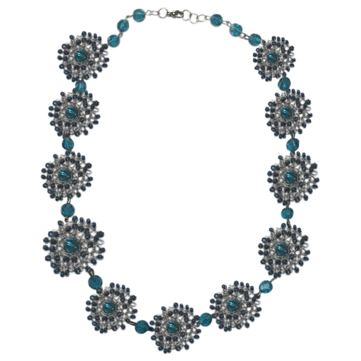 Nicole Farhi \N Blue Metal necklace for Women \N