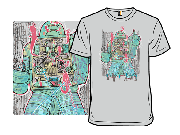 Haunted Robot T Shirt