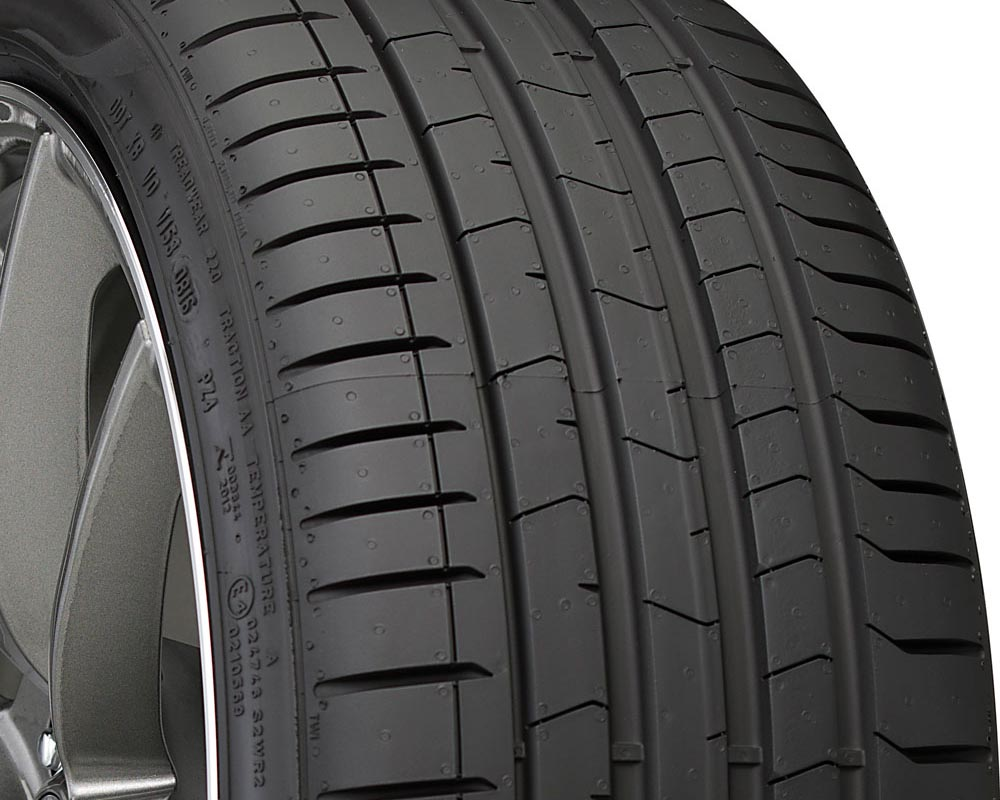 Pirelli 2544300 P Zero PZ4 Luxury Tire 245/45 R19 98Y SL BSW BM RF