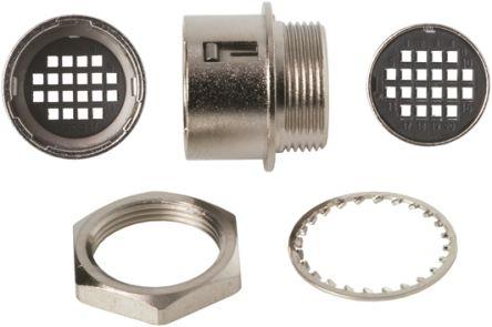 Hirose Connector, 20 contacts Panel Mount Micro Socket, Crimp