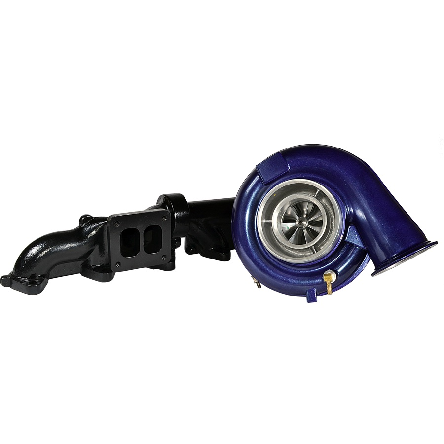 ATS Diesel 2029572326 Aurora 5000 Turbo And Pulse Flow Manifold Kit T4 2007.5+ Dodge 6.7L
