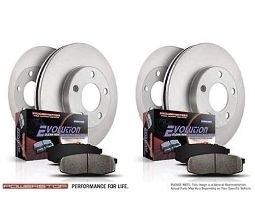 Power Stop KOE4059 Autospecialty Daily Driver Brake Kits Front & Rear KOE4059