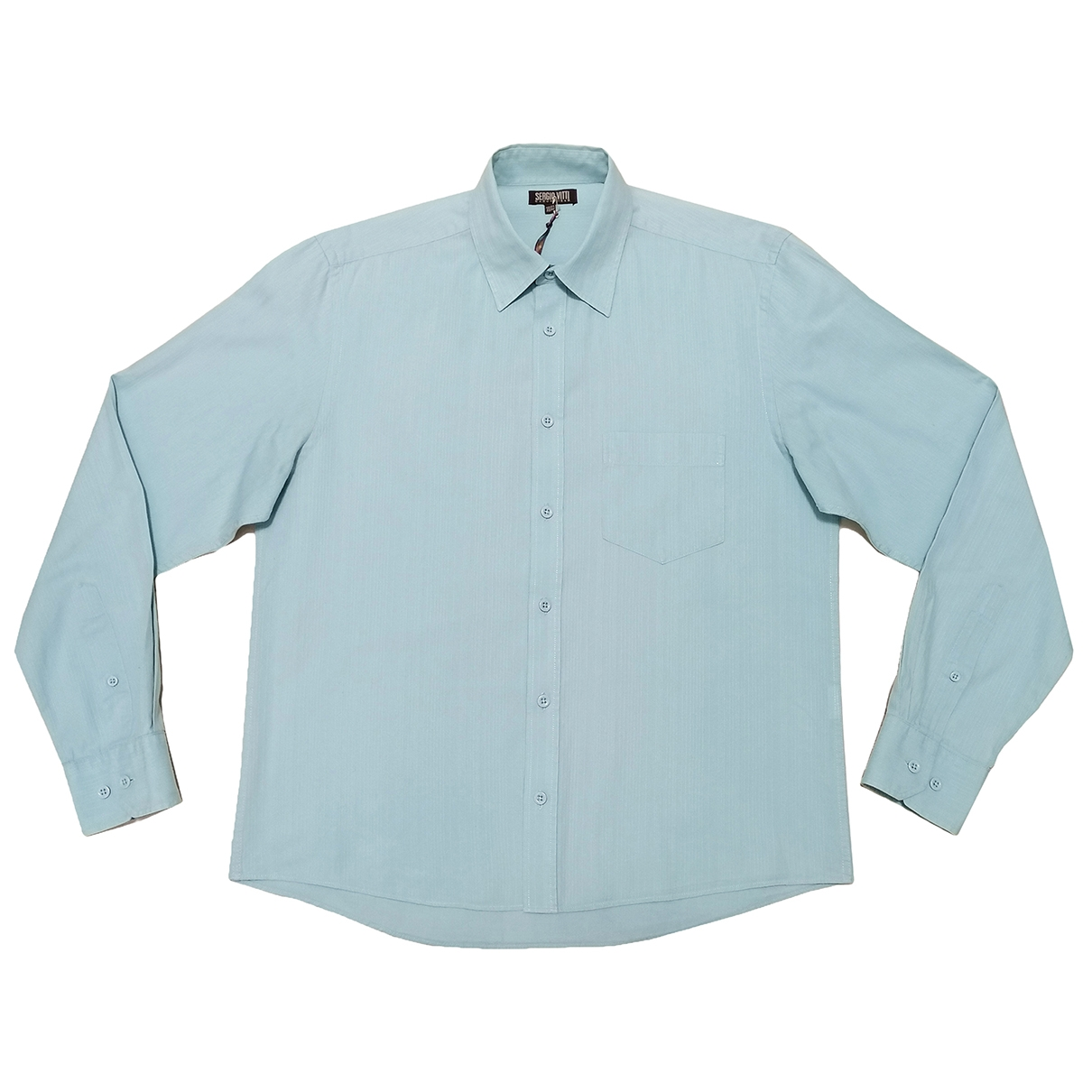 Non Signé / Unsigned \N Turquoise Cotton Shirts for Men M International