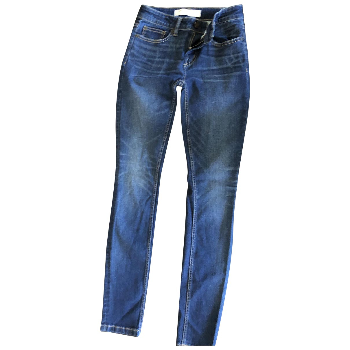 Marc By Marc Jacobs \N Blue Cotton - elasthane Jeans for Women 25 US