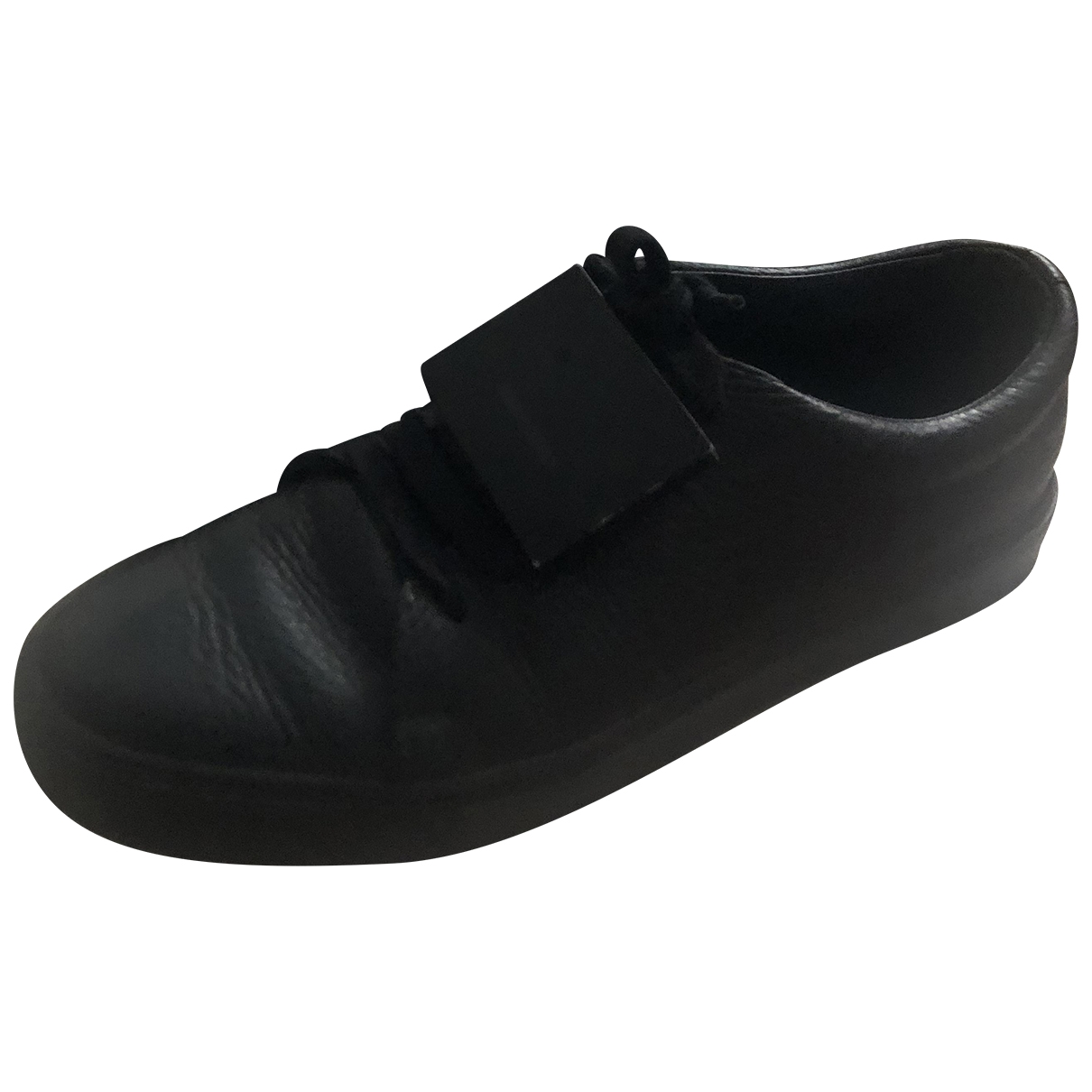 Acne Studios \N Black Leather Trainers for Women 39 EU