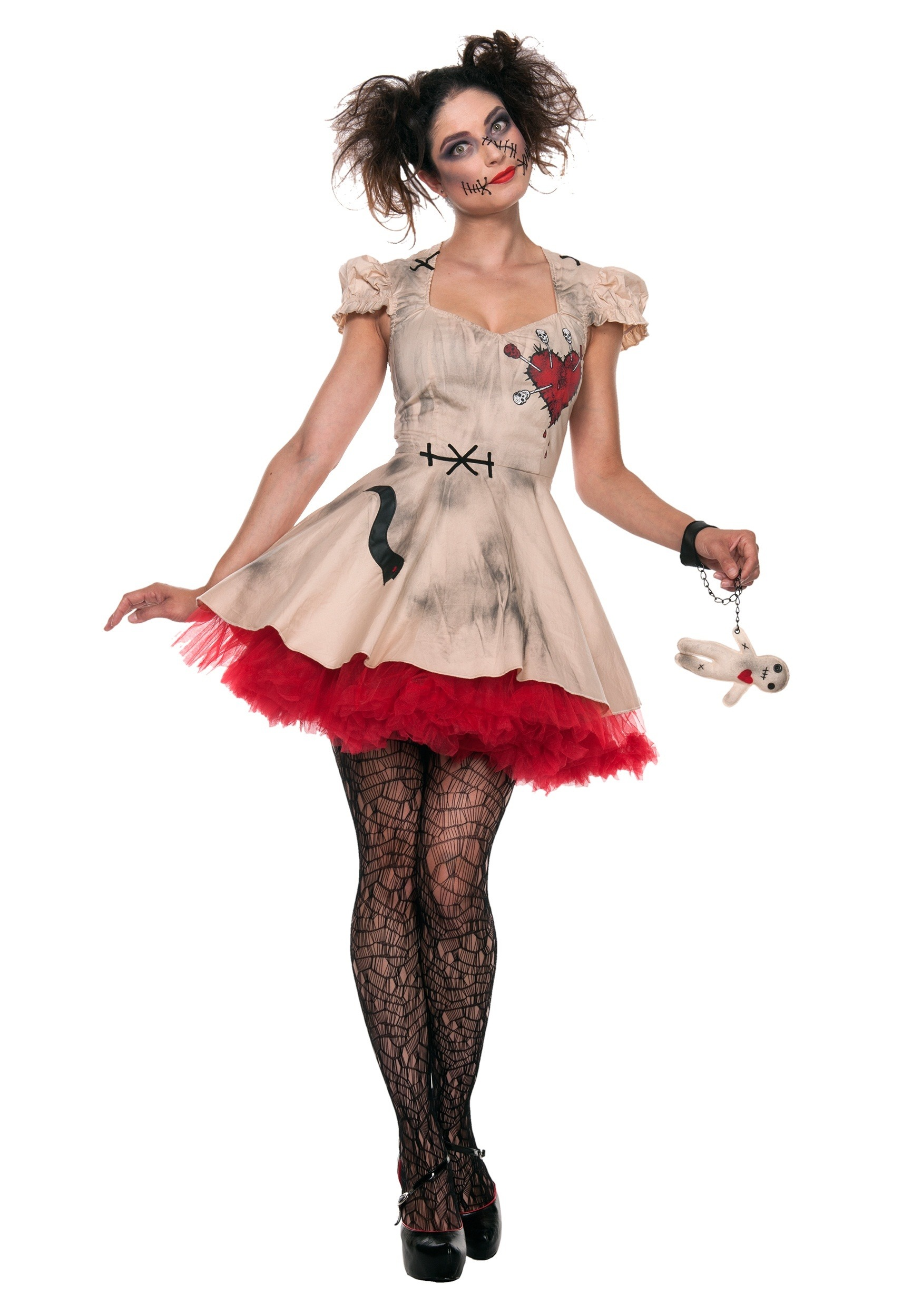 Voodoo Doll Plus Size Costume for Women