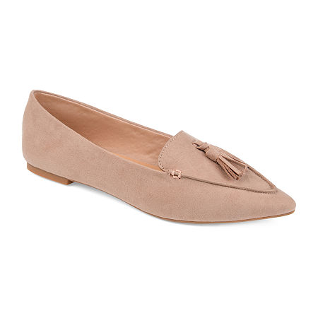 Journee Collection Womens Lindsey Loafers, 8 1/2 Medium, Pink