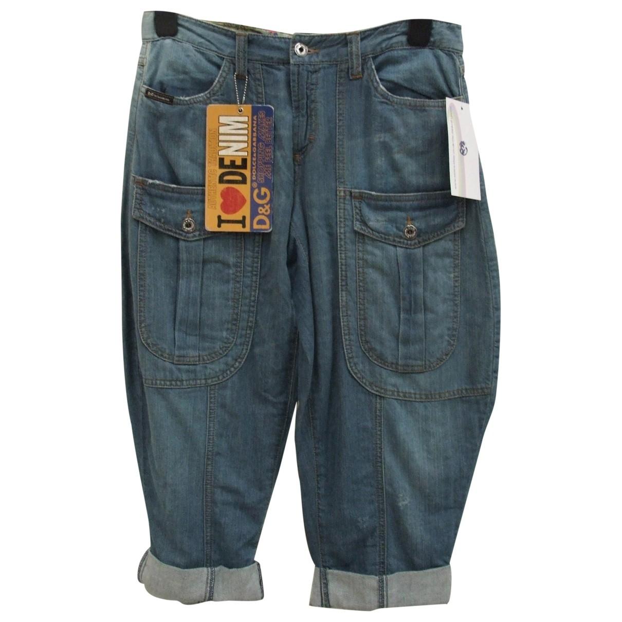 D&g \N Blue Cotton Jeans for Women 26 US