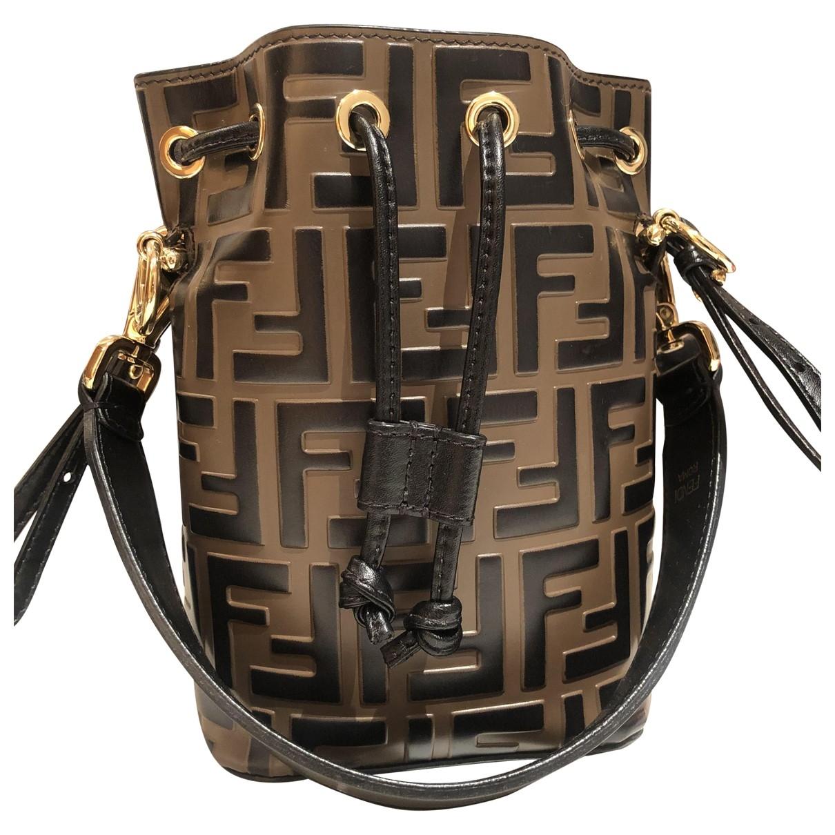 Fendi Mon Trésor Brown Leather handbag for Women \N