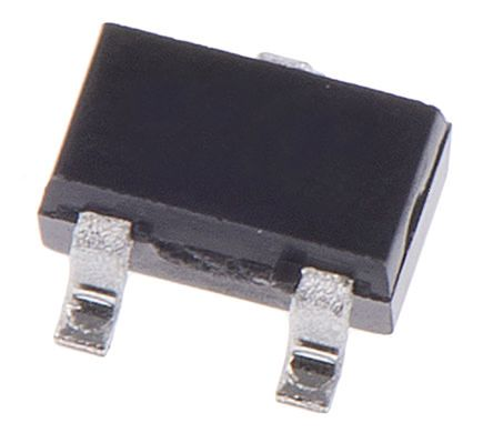 STMicroelectronics 40V 300mA, Dual Schottky Diode, 3-Pin SOT-323 BAT54SWFILM (100)