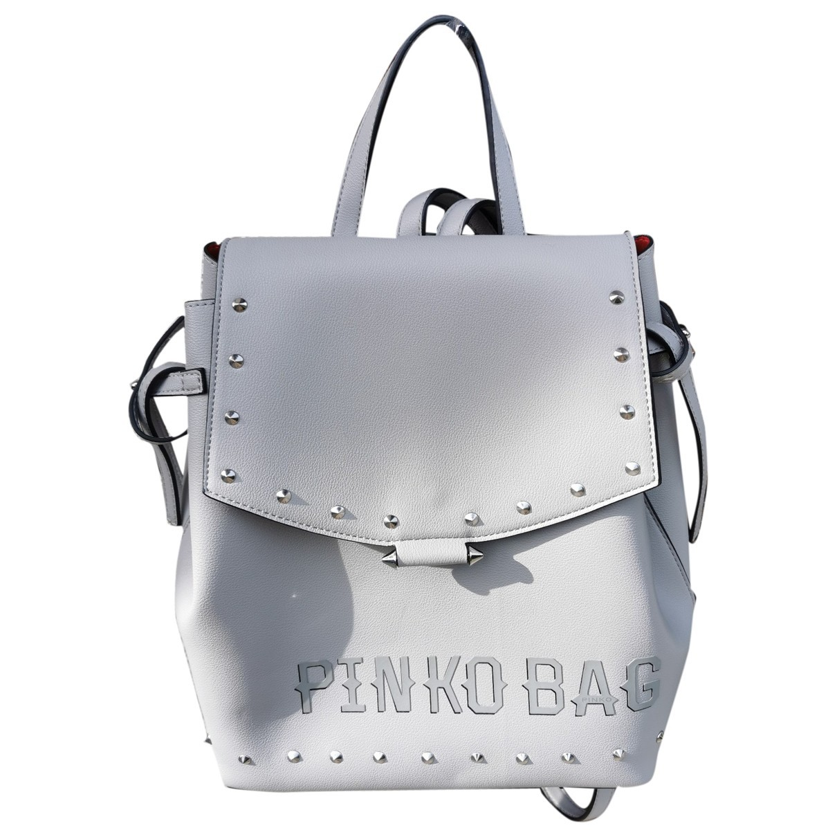 Pinko \N Grey backpack for Women \N