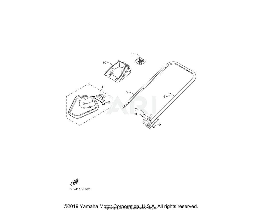 Yamaha OEM 8KC-K7517-00-00 CAP